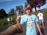 White vadore crew Skateboarding show 2010 =)