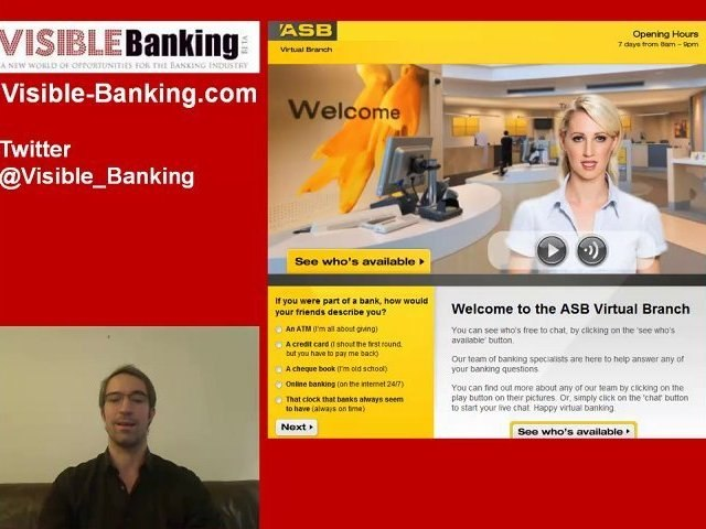 ASB Bank Launches a Virtual Branch 1.0 on Facebook