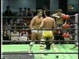 Kenta Kobashi & Shiga vs Jun Akiyama & Yoshinobu Kanemaru