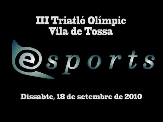 III Triatló Olimpica Vila de Tossa 2010