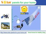 The way to do it your self with solar power kits? Using a Ph