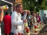 Boué : concours du plus grand buveur de cidre