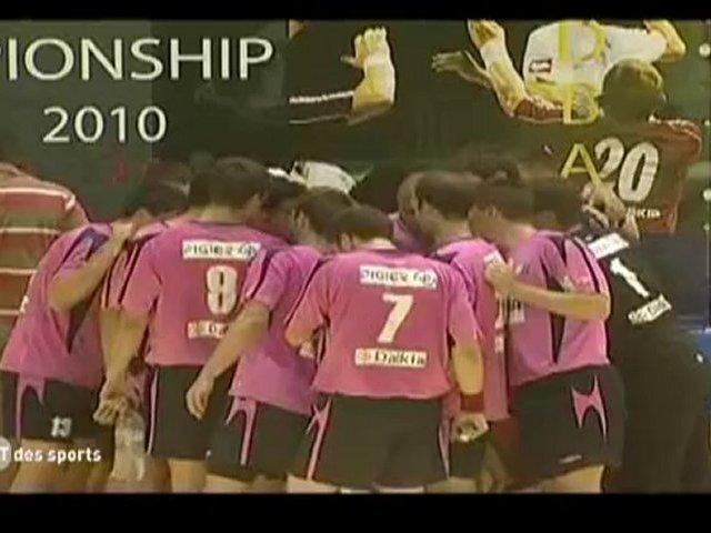 JT des sports : championnat d'Europe universitaire handball