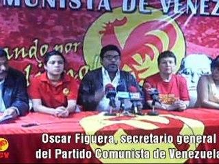 PCV: A derrotar el anticomunismo votando por el GALLO ROJO