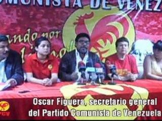 PCV: Derrotemos la campaña anticomunista votando Gallo Rojo