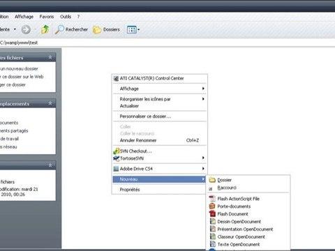 Environnement de travail pour Zend Framework