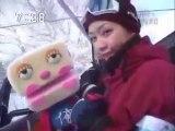 sakusaku  2003.03.05「サクサク in サッポロ③ ジゴロウ+黒幕 スキー合体」2/4