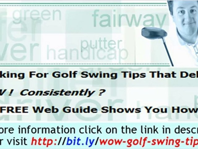 The Consistent Golf Swing System – An ultimate Golf swing sy