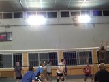Entrainement volley-ball
