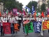 Manifestation Retraites à Bordeaux (23.09.10)