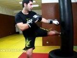 Sports combat | Placer un low kick | Coup de pied
