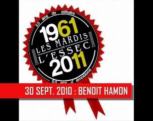 Benoit Hamon aux Mardis de l'ESSEC (teaser)