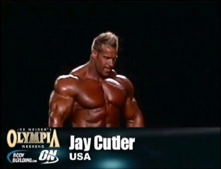 Mr Olympia 2010 Sieger Jay Cutler - Posing