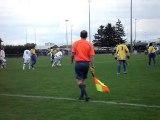 A.S.Montferrand contre A.J.Auxerre en championnat national U17 (saison 2010-2011)