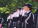 Cérémonie de la 60ème promotion des commissaires de police