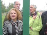 Des Verts au Mesnil-Amelot contre la loi Besson