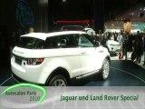 Paris 2010 Landrover Evoque and Turbine Powered Jaguar C-X7
