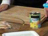 Recette : Comment préparer un poulet ananas ? Cuisine facile