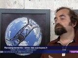 France 3 - Les Cyclopes exposent au Garage Moderne