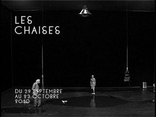 Les chaises / Texte Eugène Ionesco / Mise en scène Luc Bondy