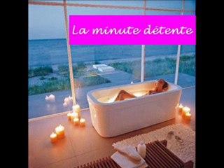 La minute détente - rituel pour un bain