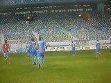 Frappe pleine lucarne d'Ibrahimovic PES 2011