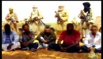 1eres images des otages enlevés au Niger