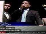 Correa: tratamos de maximizar los sueldos para que todos pue