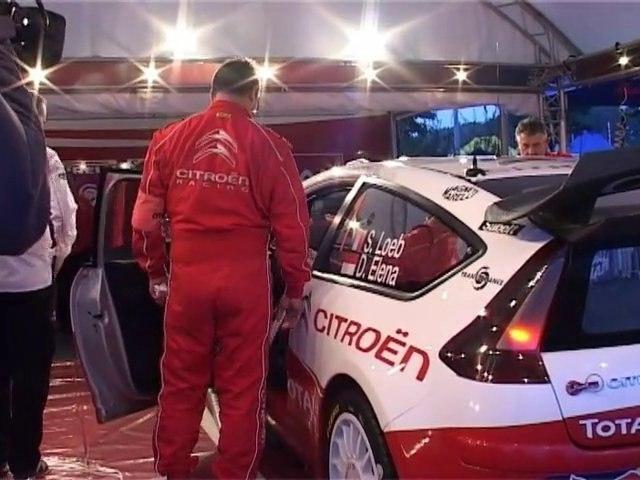 WRC Départ du rallye 2010