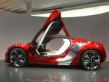 Renault DeZir au Mondial de l'Automobile 2010