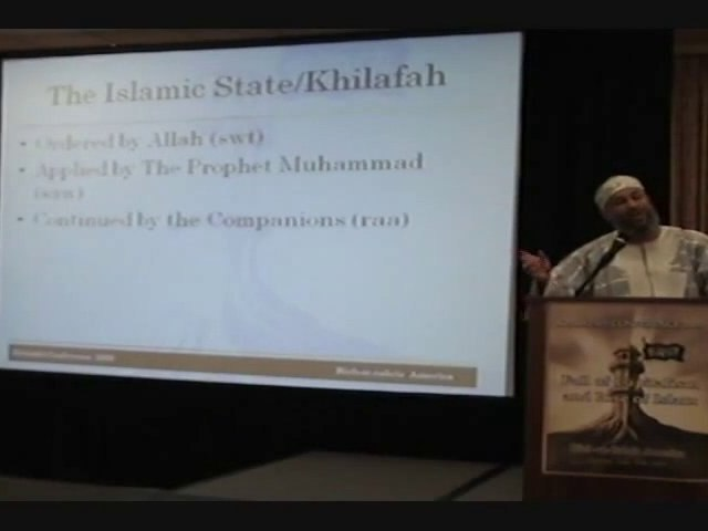Khilafah Conference USA 2009 - Role of Muslims in America