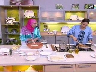 Cornes de Gazelle et viande hachée