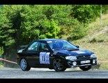 Rallye du Picodon 2010 - Equipage DEPLATIERE -Subaru Impreza