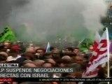 Manifestación contra la reforma de Sarkozy al sistema de ju