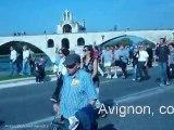 Contre la réforme des retraites, défilé à Avignon