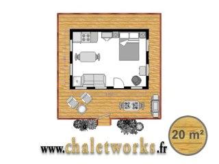CHALETWORKS - Marina Campus 20 m²