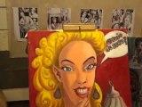 Alexandre Van Buuren Artiste Peintre Travaux d'atelier 02