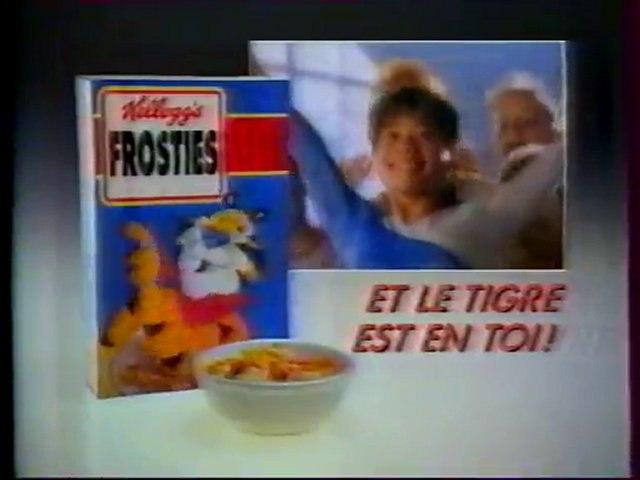 Publicité Kellogg's Frosties Et Le Tigre Est En Toi 1991
