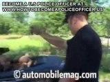 Police car burnout !DODGE CHARGER!