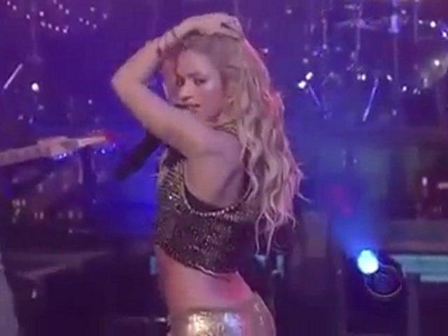 Shakira - Loca - Late Show with David Letterman