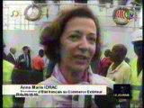 Anne Marie Idrac au Port de Pointe-Noire
