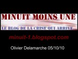 Olivier Delamarche BFM radio du 5 octobre 2010 - 05/10/2010
