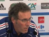 Laurent Blanc évoque la Roumanie