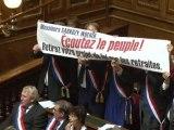 Réforme des retraites-Les sénateurs du CRC-SPG interpellent