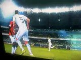 Cristiano Ronaldo geste technique + but PES 2011
