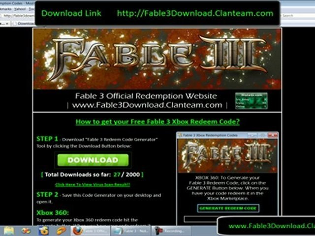 Fable 3 Free Full Download For Xbox 360 + Crack