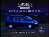 Publicité Espace Renault  Space Mountain 1995