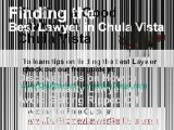 DUI Lawyer Chula Vista, San Diego DUI Attorney