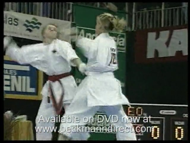 Karate fights, competitions and demonstrations from expert m