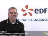 Emeric Martin, Champion paralympique de tennis de table
